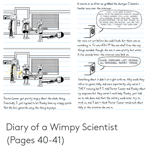 scientist: Diary of a Wimpy Scientist (Pages 40-41)