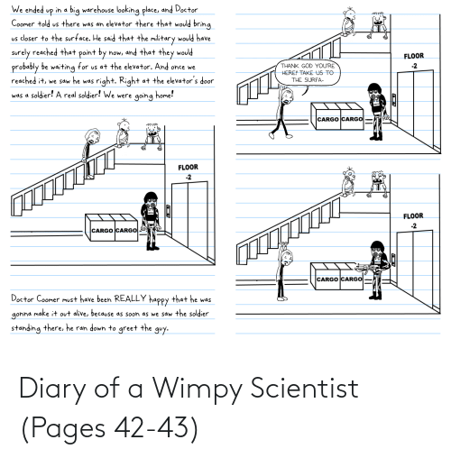 scientist: Diary of a Wimpy Scientist (Pages 42-43)