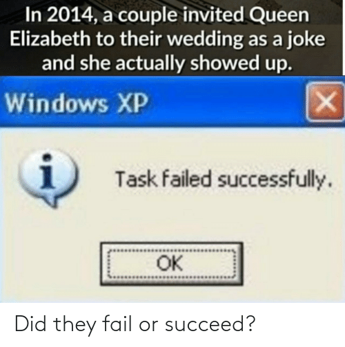 did: Did they fail or succeed?