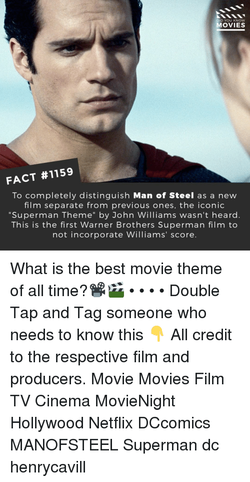 DID YOU KNOW MOVIES FACT #1159 to Completely Distinguish Man