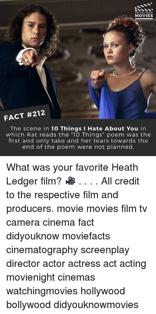 Did You Know Movies Fact 212 The Scene In 10 Things I Hate About