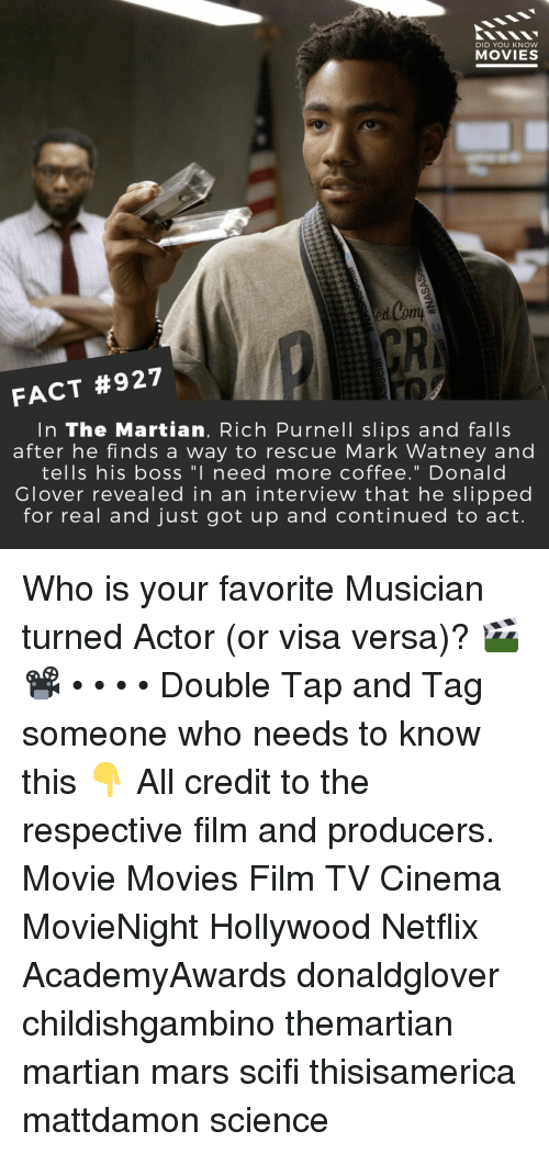 Did You Know Movies Gr Fact 927 In The Martian Rich Purnell Slips