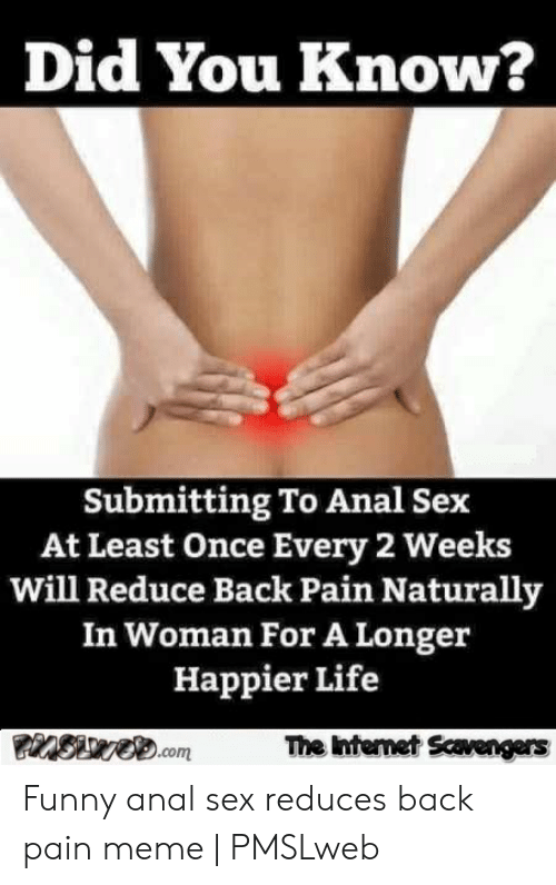 anal sex gone bad