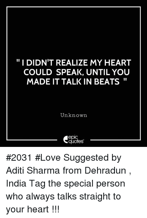 Special Person: "