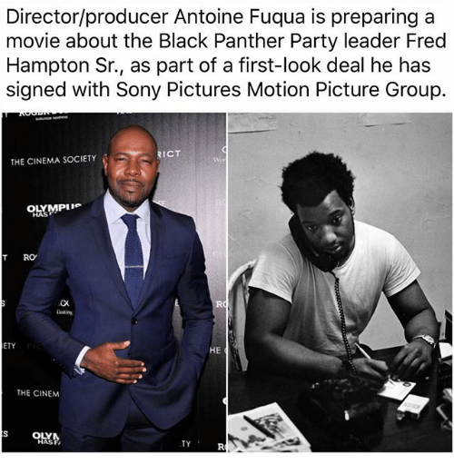 Directorproducer Antoine Fuqua Is Preparing A Movie About The Black