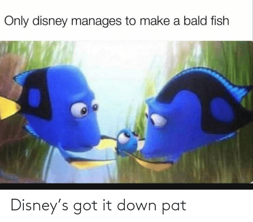 It Down: Disney's got it down pat