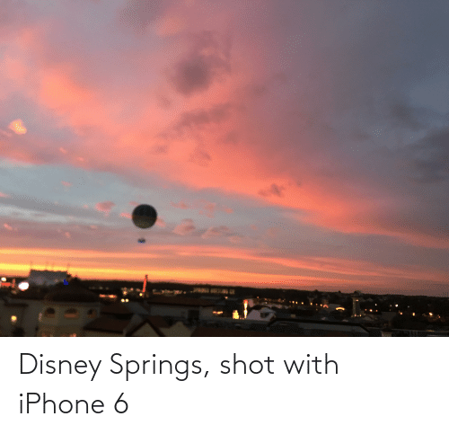Iphone 6: Disney Springs, shot with iPhone 6