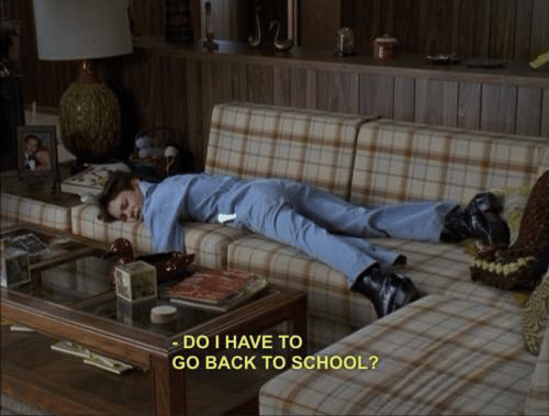 School, Back, and Back to School: DO I HAVE TO  GO BACK TO SCHOOL?