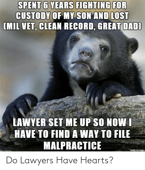 Hearts: Do Lawyers Have Hearts?