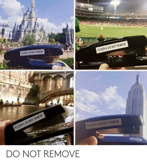 Do Not: DO NOT REMOVE