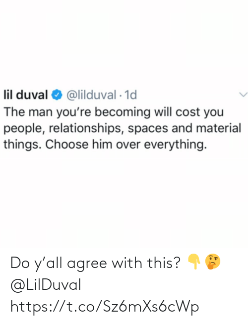 Ÿ˜˜: Do y'all agree with this? 👇🤔 @LilDuval https://t.co/Sz6mXs6cWp