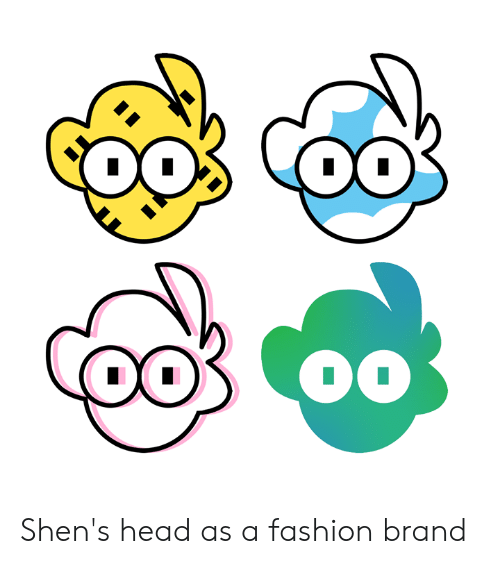 Fashion, Head, and Memes: DO00 Shen's head as a fashion brand
