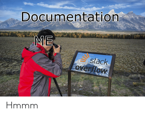 Stack, Stack Overflow, and Documentation: Documentation  ME  Shrinking Teto Glaciers  stack  overflow Hmmm