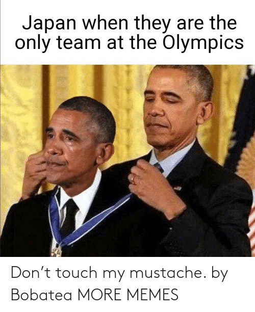 don: Don't touch my mustache. by Bobatea MORE MEMES
