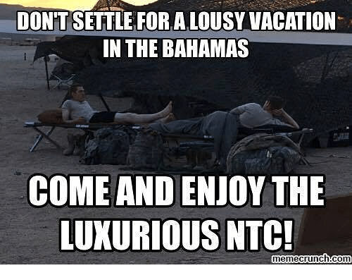 lousy: DONT SETTLE FOR A LOUSY VACATION  IN THE BAHAMAS  COME AND ENIOY THE  LUXURIOUS NTC!  memecrunch con