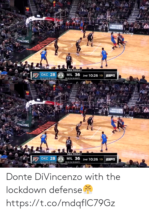 Divincenzo: Donte DiVincenzo with the lockdown defense😤 https://t.co/mdqflC79Gz