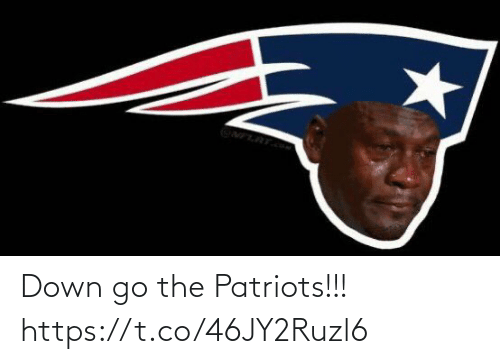 Patriotic: Down go the Patriots!!! https://t.co/46JY2Ruzl6