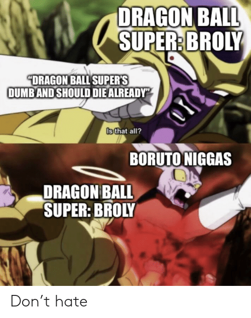 25 Best Memes About Dragon Ball Super Broly Dragon