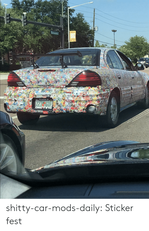 Tumblr, Blog, and Car: DREAM shitty-car-mods-daily:  Sticker fest