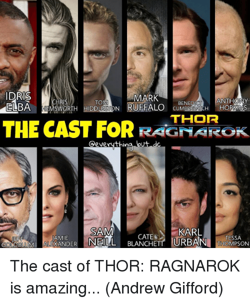 25 Best Memes About Cast Of Thor Cast Of Thor Memes