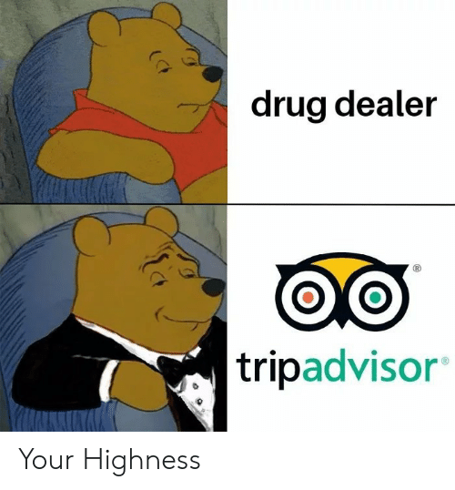 Drug Dealer, Your Highness, and Drug: drug dealer  tripadvisor Your Highness