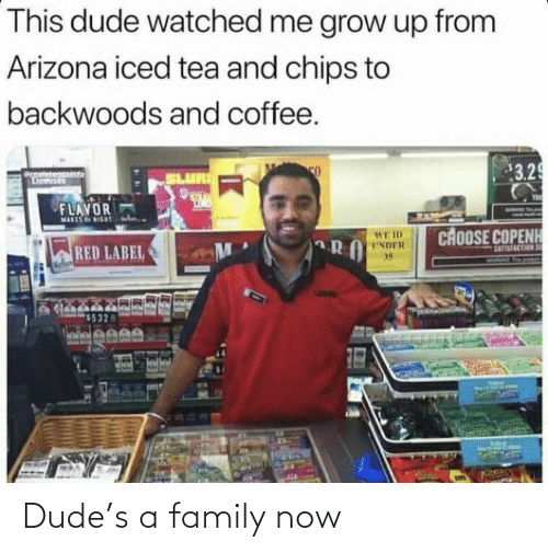 dude: Dude's a family now
