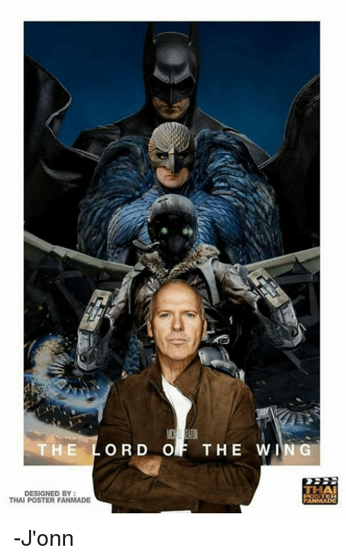 posterization: E LORD OF THE WING  THA  DESIGNED BY  THAI POSTER FANMADE -J'onn