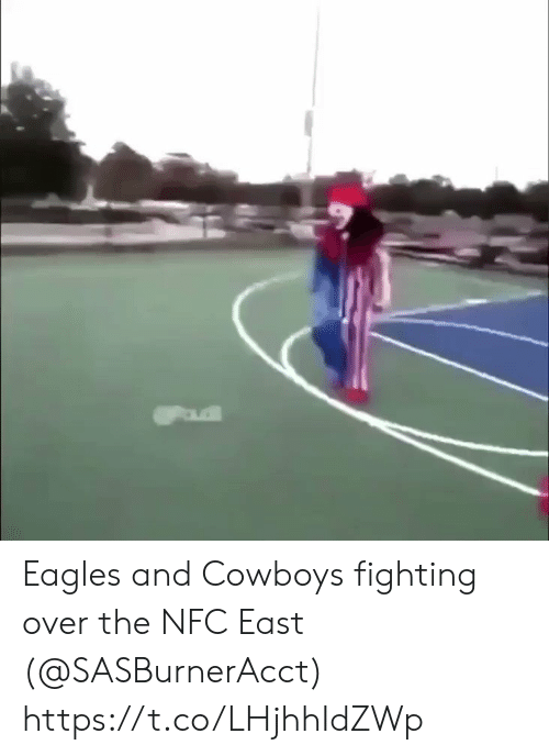 nfc: Eagles and Cowboys fighting over the NFC East (@SASBurnerAcct) https://t.co/LHjhhIdZWp