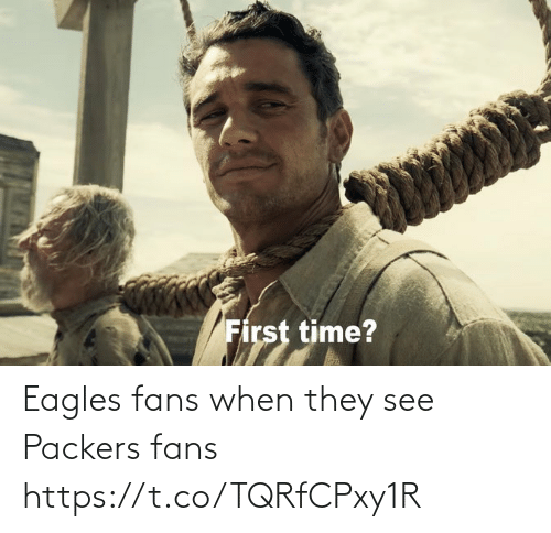 When They: Eagles fans when they see Packers fans https://t.co/TQRfCPxy1R