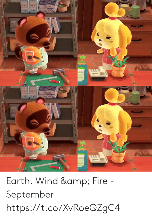 Fire: Earth, Wind & Fire - September https://t.co/XvRoeQZgC4