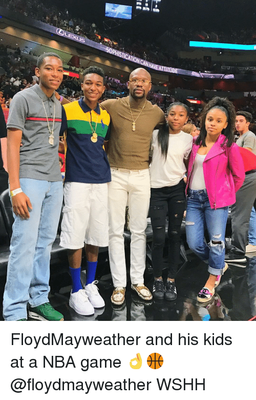 Memes, Wshh, and Nba Games: EAT  NEED  ANCE? Text FloydMayweather and his kids at a NBA game 👌🏀 @floydmayweather WSHH