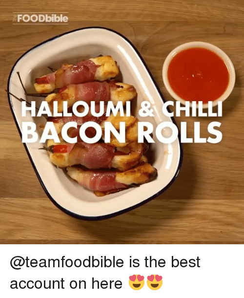 acon: EFOODbible  HALLOUMIRACAttt  ACON ROLLS @teamfoodbible is the best account on here 😍😍