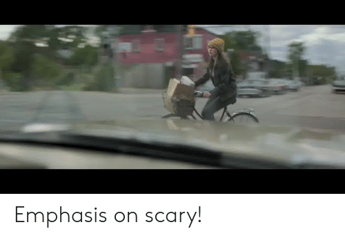 Memes, 🤖, and Scary: Emphasis on scary!