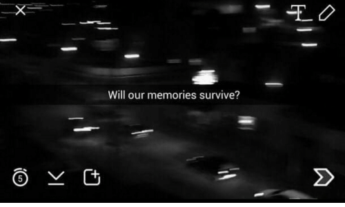 Will, Memories, and Survive: EO  Will our memories survive?  2