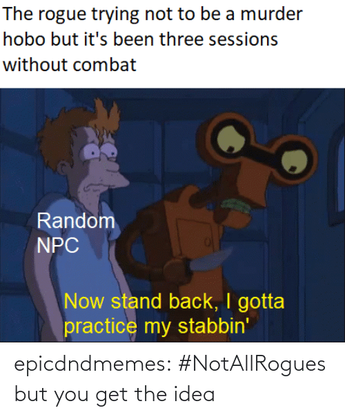 tumblr: epicdndmemes:  #NotAllRogues but you get the idea
