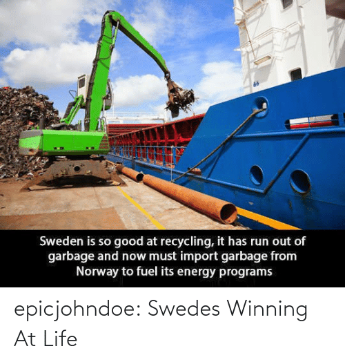 Life: epicjohndoe:  Swedes Winning At Life