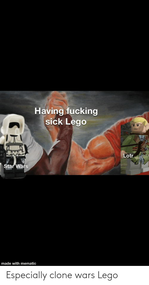 clone wars: Especially clone wars Lego