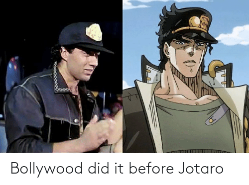 Bollywood: ET Bollywood did it before Jotaro
