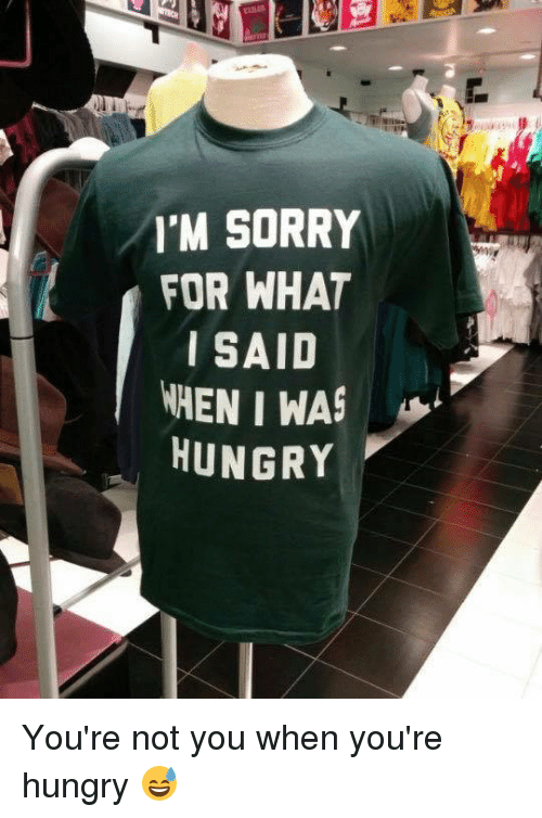 Youre Not You When Youre Hungry