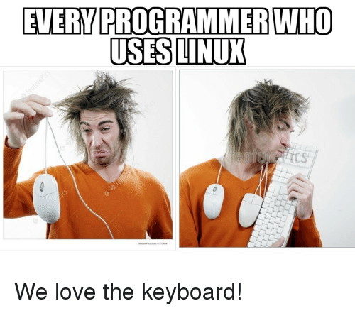 Love, Keyboard, and Tcs: EVERY PROGRAMMER WHO  USESLINUX  TCS  FeaturePics.com-1173484 We love the keyboard!