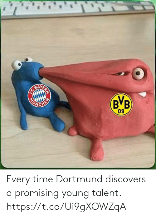 Promising: Every time Dortmund discovers a promising young talent. https://t.co/Ui9gXOWZqA