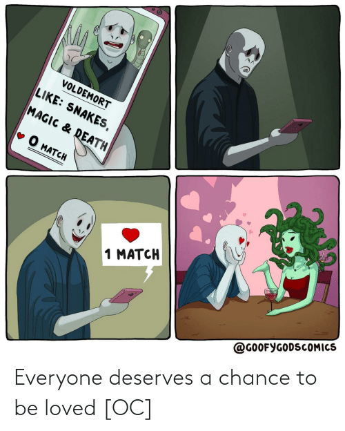 Loved: Everyone deserves a chance to be loved [OC]