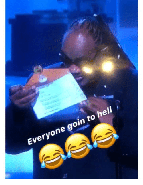 Memes, Hell, and 🤖: Everyone goin to hell