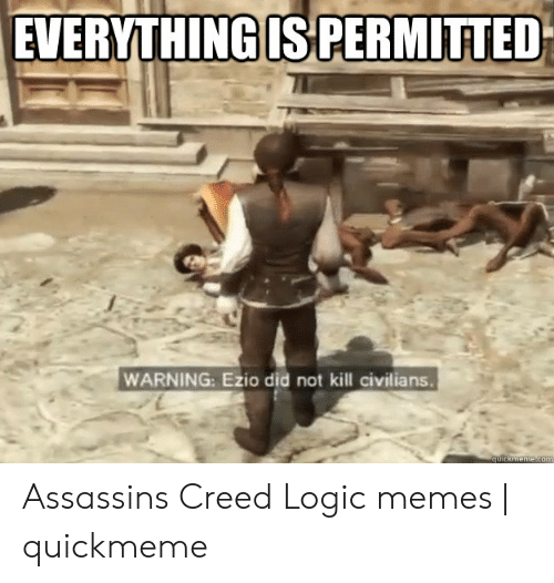 Everything Is Permitted Warning Ezio Did Not Kill Civilians