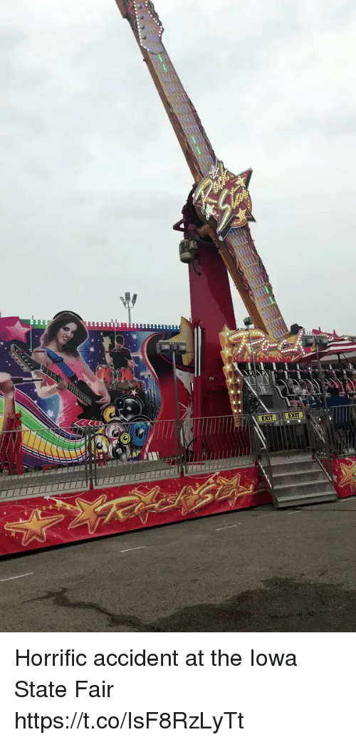 iowa state: EXIT EXI Horrific accident at the Iowa State Fair https://t.co/IsF8RzLyTt