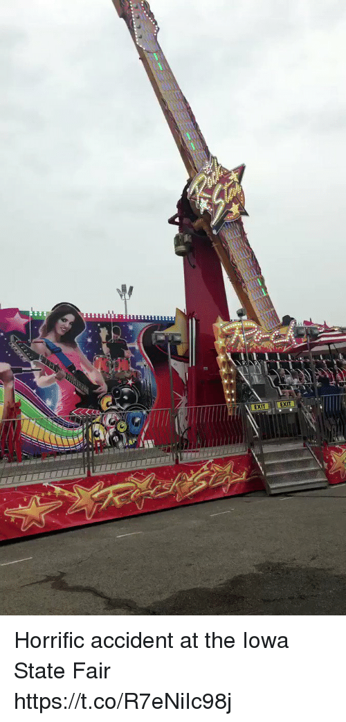 iowa state: EXIT EXIT  EXITEXIT Horrific accident at the Iowa State Fair https://t.co/R7eNiIc98j