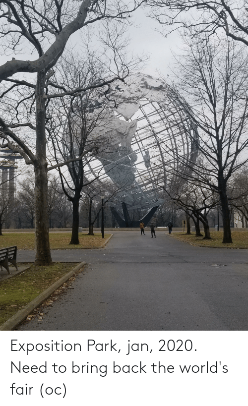 exposition: Exposition Park, jan, 2020. Need to bring back the world's fair (oc)