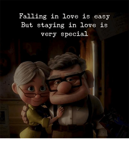 Love, Easy, and Falling in Love: Falling in love is easy  But staying in love is  very specia