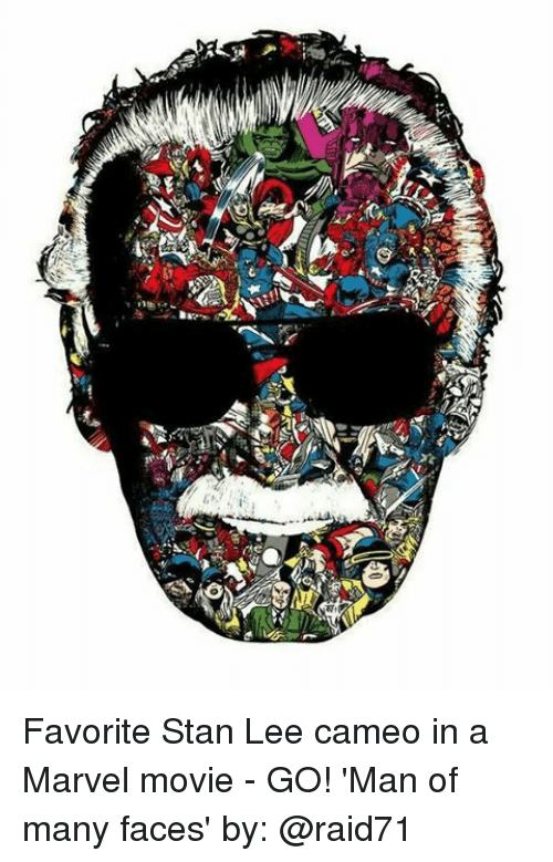 Stanning: Favorite Stan Lee cameo in a Marvel movie - GO! 'Man of many faces' by: @raid71