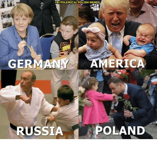Polish Meme: FBIPOLEMICAL POLISH MEMES  GERMAN  ERICA  RUSSIA  POLAND